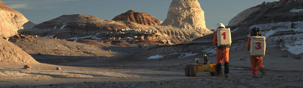Mars Crew 134 at MDRS, 2014, by Kai Staats