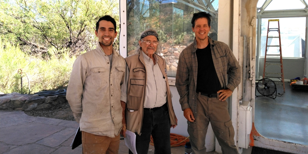 Biosphere 2 architect Phil Hawes visits SAM, speaks with Trent Tresch and Kai Staats