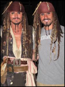 Johnny Depp, Chris Leps