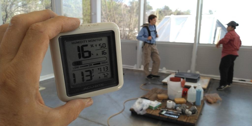 113F in the Test Module, SAM at Biosphere 2