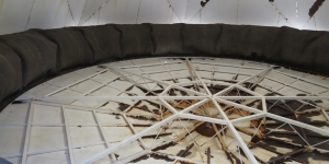 the SAM lung, at Biosphere 2