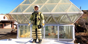 Pressure suit at SAM by Smith Aerospace Garments