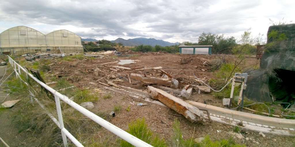 SAM Mars Yard construction begins!